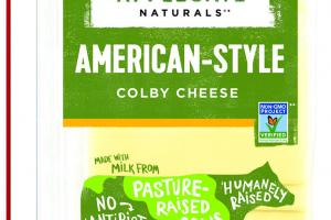 AMERICAN-STYLE COLBY CHEESE