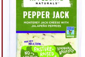 PEPPER MONTEREY JACK CHEESE WITH JALAPENO PEPPERS