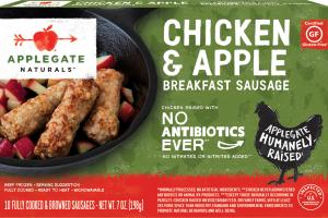 CHICKEN & APPLE BREAKFAST SAUSAGE