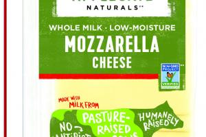 WHOLE MILK LOW-MOISTURE MOZZARELLA CHEESE