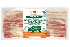HICKORY SMOKED UNCURED REDUCED SODIUM SUNDAY BACON