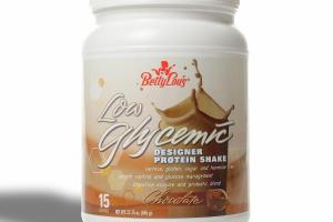 LOW GLYCEMIC CHOCOLATE DESIGNER PROTEIN SHAKE