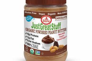 CHOCOLATE ORGANIC POWDERED PEANUT BUTTER