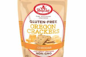CHEDDAR GLUTEN-FREE OREGON CRACKERS