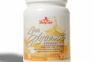 LOW GLYCEMIC PROTEIN SHAKE, ORANGE CREAM