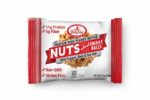 PEANUTS, OATS & SEA SALT PROTEIN PLUS PEANUT BUTTER ENERGY BALLS