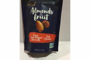 FIERY GHOST PEPPER ALMONDS & TART CHERRY ALMOND & FRUIT