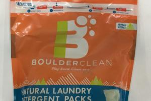 Natural Laundry Detergent Packs
