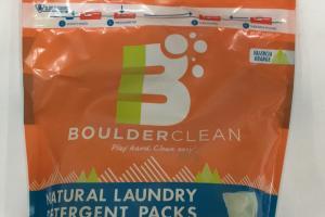 Natural Laundry Detergent Packs