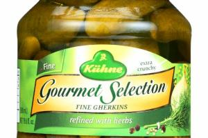 GOURMET SELECTION FINE GHERKINS