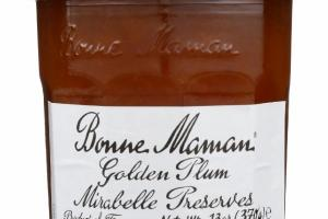 GOLDEN PLUM MIRABELLE PRESERVES