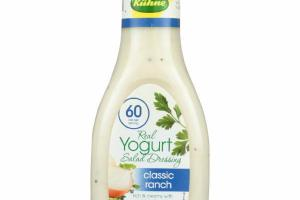 CLASSIC RANCH REAL YOGURT SALAD DRESSING