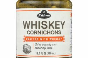 WHISKEY CORNICHONS