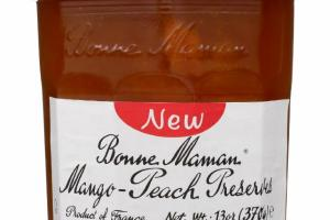 MANGO-PEACH PRESERVES
