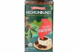 DECAF ORGANIC INSTANT COFFEE
