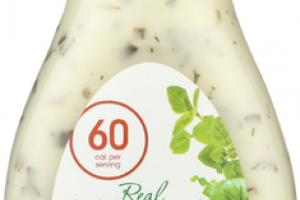 GARDEN HERB REAL YOGURT SALAD DRESSING