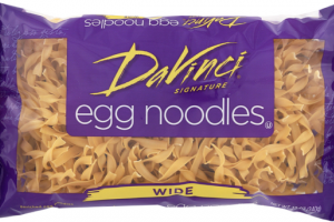 WIDE ENRICHED EGG NOODLES