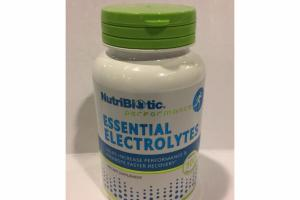 ESSENTIAL ELECTROLYTES CAPSULES DIETARY SUPPLEMENT