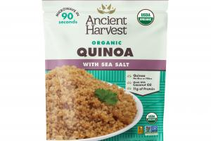ORGANIC QUINOA WITH SEA SALT