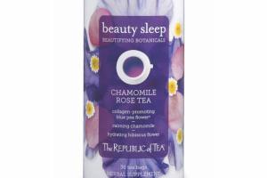BEAUTY SLEEP CHAMOMILE ROSE TEA HERBAL SUPPLEMENT