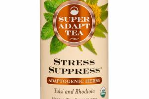 TULSI AND RHODIOLA STRESS SUPPRESS ADAPTOGENIC HERBS HERBAL TEA SUPPLEMENT TEA BAGS
