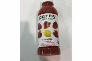 STRAWBERRY PARADISE FLAVORED JUICE DRINK
