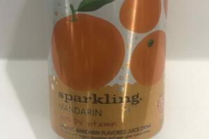 ORGANIC MANDARIN FLAVORED JUICE DRINK SPARKLING.