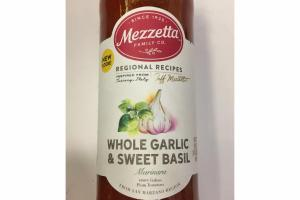 WHOLE GARLIC & SWEET BASIL MARINARA