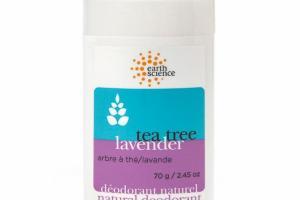 NATURAL DEODORANT, TEA TREE LAVENDER