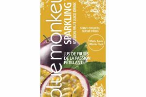 SPARKLING PASSION FRUIT JUICE DRINK
