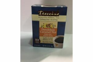 DANDELION CARAMEL NUT ROASTED HERBAL TEA
