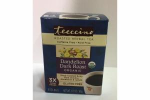 DANDELION DARK ROAST ORGANIC ROASTED HERBAL TEA