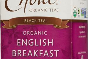 ORGANIC ENGLISH BREAKFAST BLACK TEA BAGS