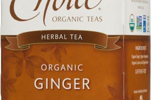 ORGANIC GINGER HERBAL TEA BAGS