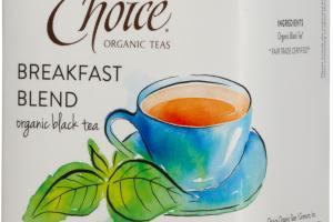BREAKFAST BLEND ORGANIC BLACK TEA BAGS