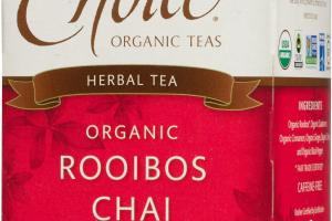 ORGANIC ROOIBOS CHAI HERBAL TEA BAGS
