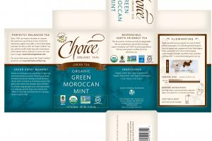 ORGANIC GREEN MOROCCAN MINT GREEN TEA