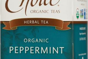 ORGANIC PEPPERMINT HERBAL TEA BAGS