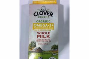 ORGANIC OMEGA.3+ PLUS CHOLINE FOR BRAIN HEALTH WHOLE MILK