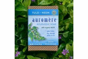 AYURVEDIC SOAP WITH TULSI - NEEM