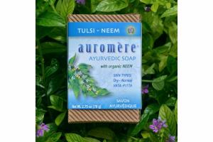 AYURVEDIC SOAP WITH TULSI - NEEM