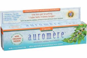 CLASSIC AYURVEDIC HERBAL TOOTHPASTE WITH NEEM POWER