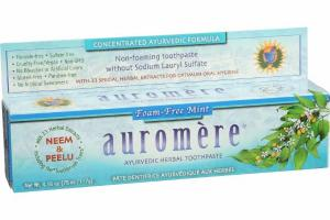 FOAM-FREE AYURVEDIC HERBAL TOOTHPASTE, MINT