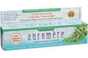 AYURVEDIC HERBAL TOOTHPASTE, FRESH MINT