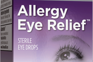 ALLERGY RELIEF HOMEOPATHIC STERILE EYE DROPS