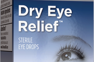 DRY EYE RELIEF HOMEOPATHIC STERILE EYE DROPS