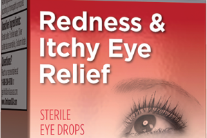 REDNESS & ITCHY EYE RELIEF STERILE EYE DROPS