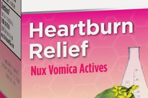 HEARTBURN RELIEF NUX VOMICA ACTIVES, HOMEOPATHIC ORIGINAL SWISS FORMULA DISSOLVABLE TABLETS