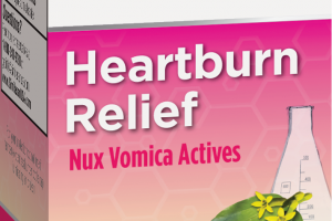 HEARTBURN RELIEF NUX VOMICA ACTIVES, HOMEOPATHIC ORIGINAL SWISS FORMULA DISSOLVABLE TABLETS