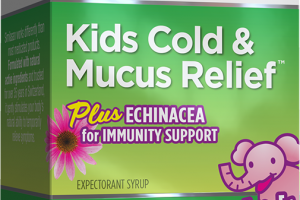 KIDS COLD & MUCUS RELIEF PLUS ECHINACEA FOR IMMUNITY SUPPORT HOMEOPATHIC ORIGINAL SWISS FORMULA EXPECTORANT SYRUP, NATURAL GRAPE
